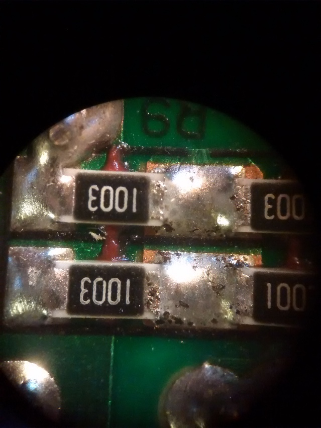 Quality of solder joints as seen through a microscope. An alternitive supplier..