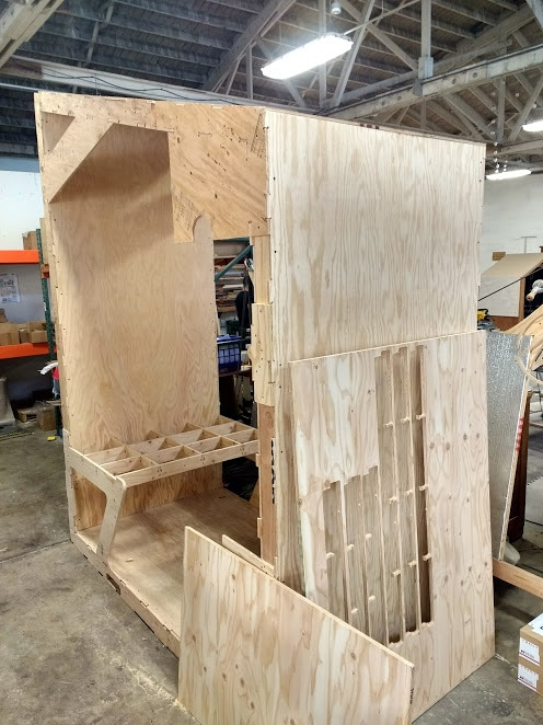 The exploratory module we built this week from the CAD model