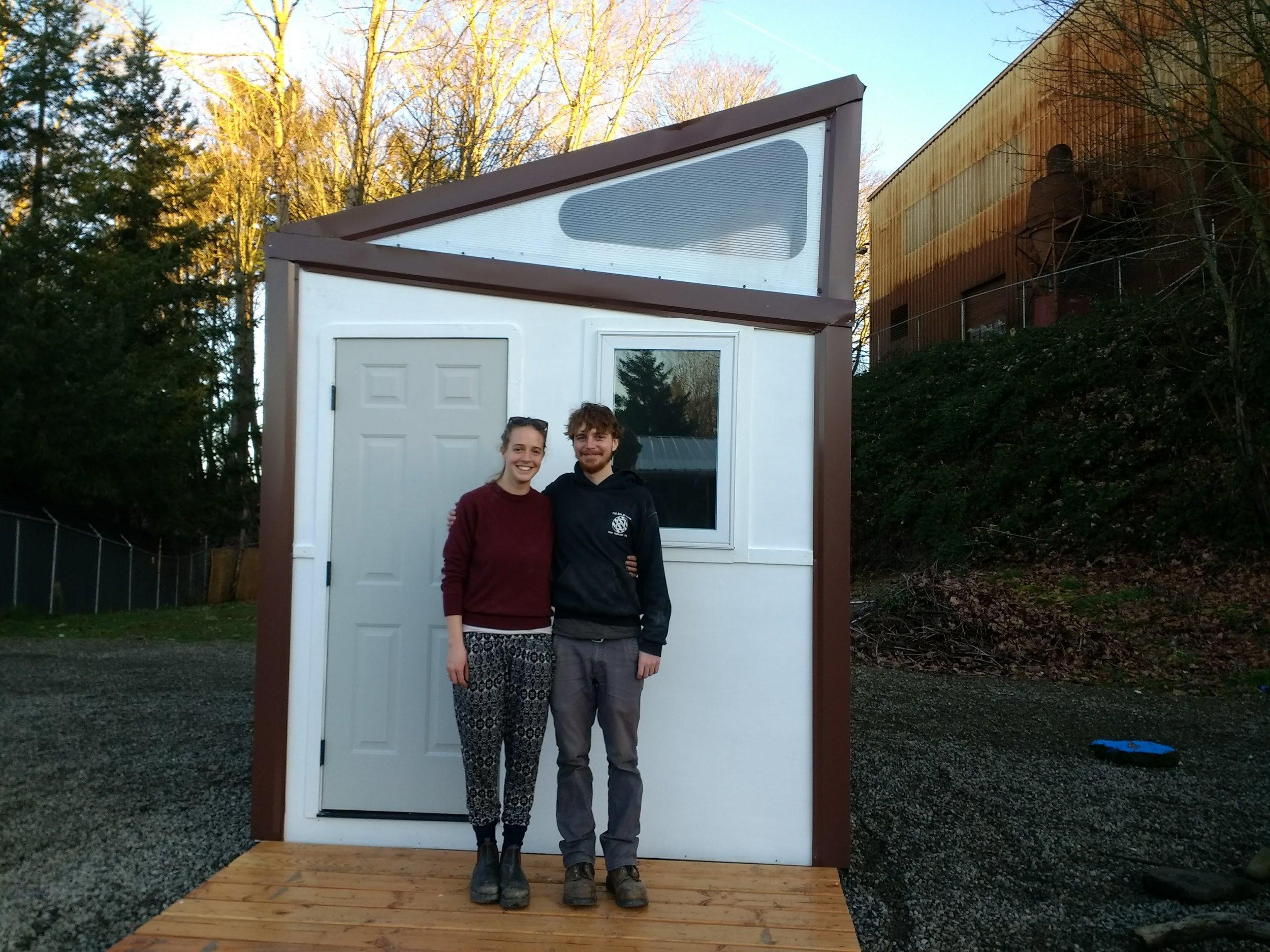 Tiny house, regular size us