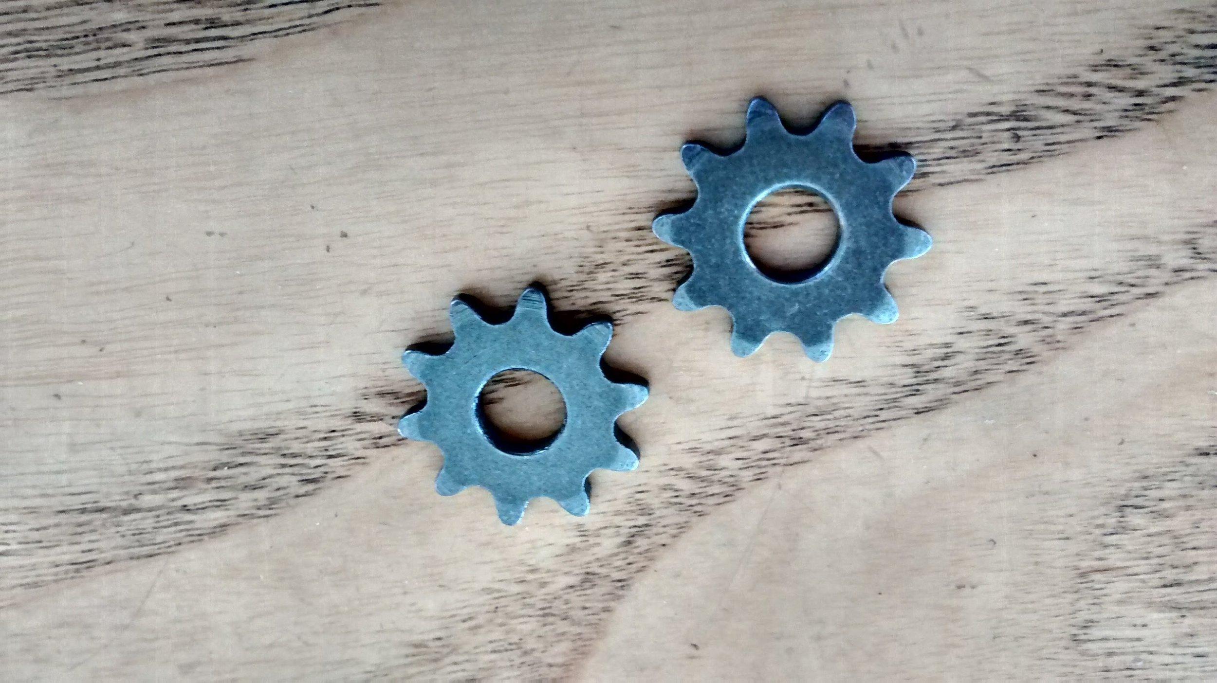 2 Chain Sprockets