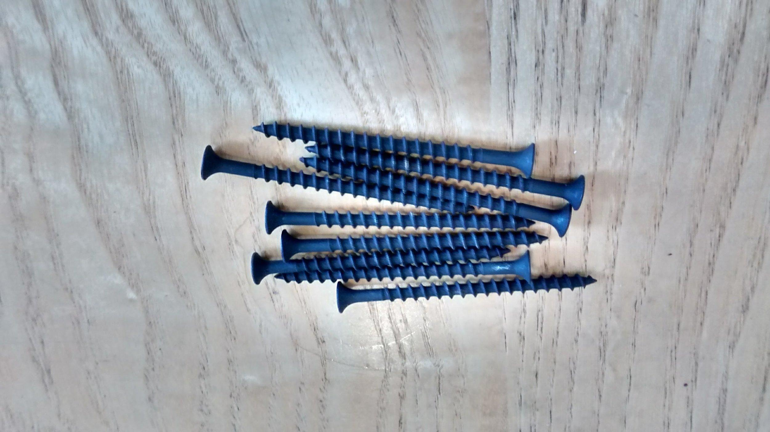 90 Long Wood Screws