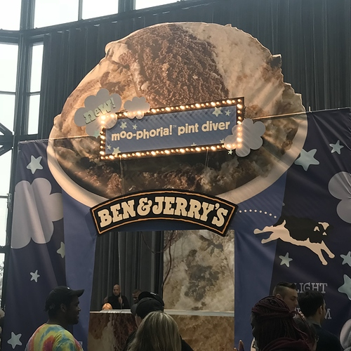 Probably the largest thing built with Maslow to date..certainly the largest ice cream