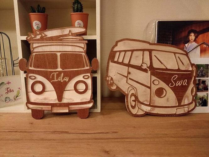 Dag83's VW Van Door Signs