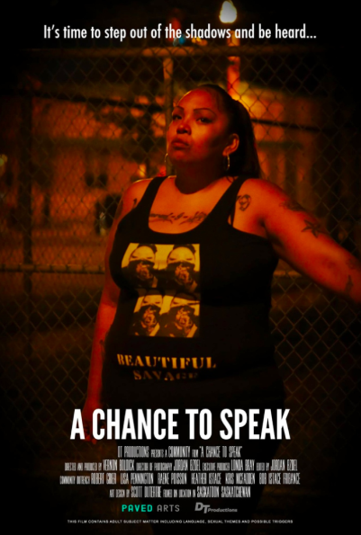 A chance to speak    Vernon Boldick - DT Productions