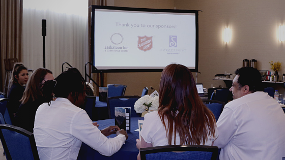 We want to thank our major sponsors that helped make our 2019 Summit a success: Saskatoon's Salvation Army, Soroptimist Club and the Saskatoon Inn and Conference Centre!