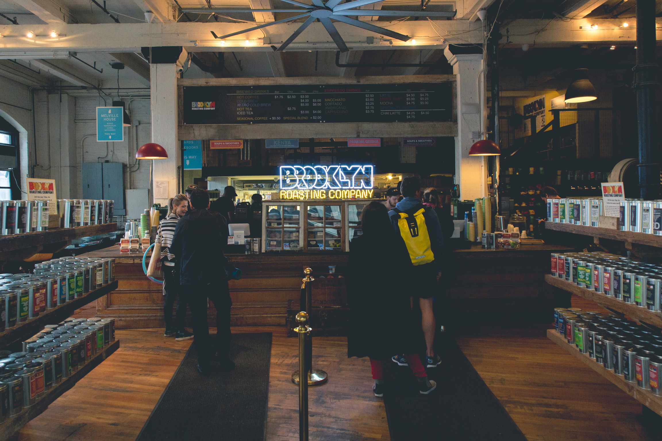 Brooklyn Roasting Company in DUMBO, New York City