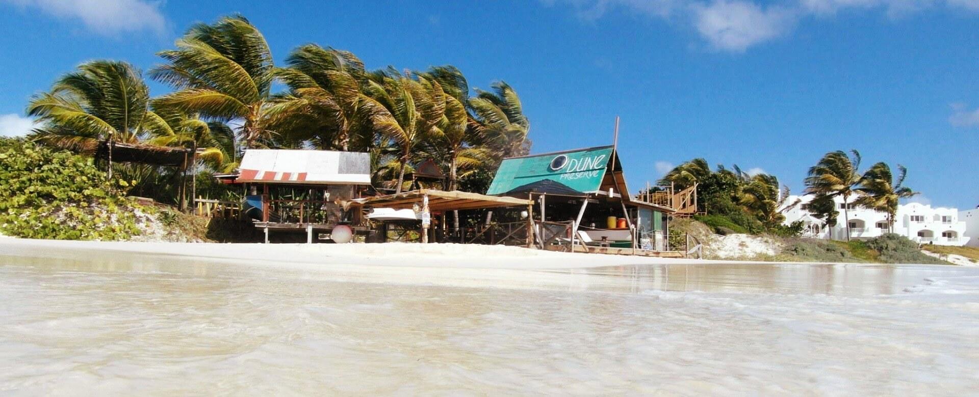 #1 Caribbean beach bar Dune Preserve
