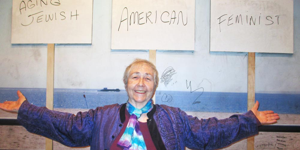 My Judaism informs who I am and the choices I make as an American and as a feminist. I have an activist spirit and a mindful heart and am grateful to be alive. I am curious to see how the thread of aging is woven into and changes that tapestry.   —Carol
