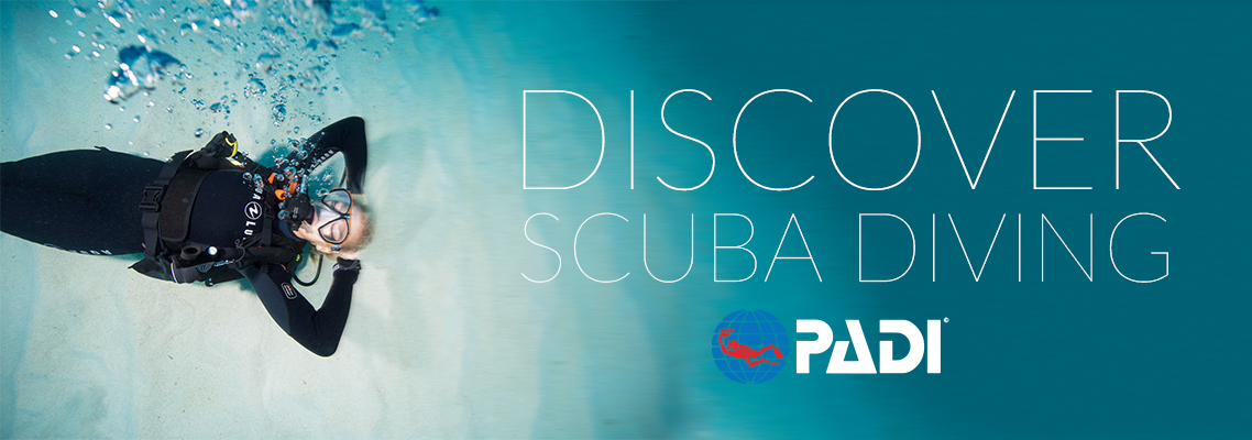 Discover Scuba Diving - Have you ever wondered what its like to breath underwater? During a Discover Scuba Diving class, you'll experience a fascinating and different part of our world-the underwater realm. Begin your underwater adventure today, it only takes two hours! Call us for more information.