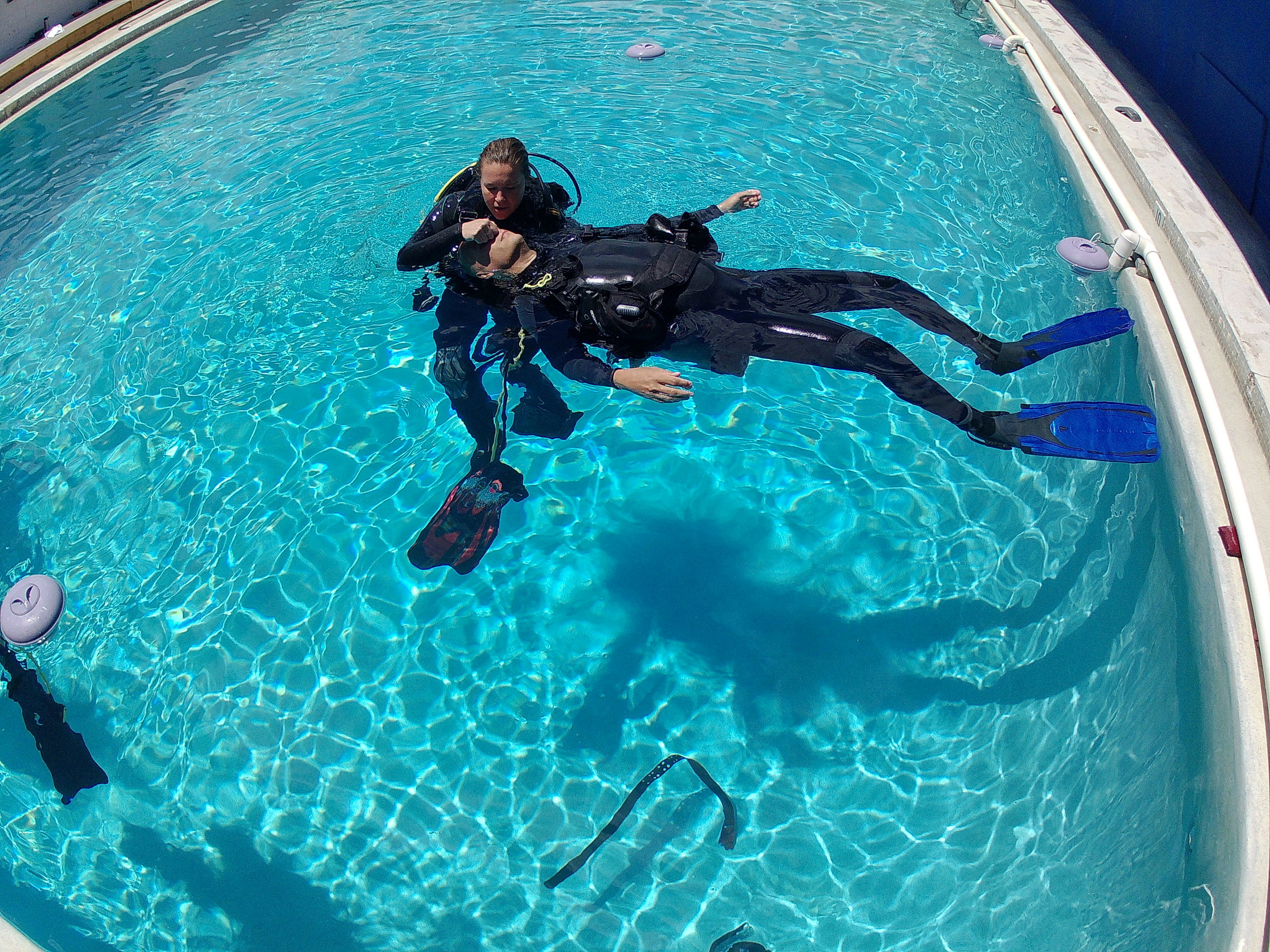 Rescue Diver - In water