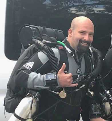 PADI Master Instructor  - Diving since 1999Instructor Certifications: Drift Diver, Dry Suit Diver, Peak Performance Buoyancy, Equipment Specialist, Boat, Search & Recovery, Wreck Diver, Night Diver, Underwater Navigator, Enriched Air, Deep DIver, Sidemount Diver, Delayed Surface Marker Buoy, Self-Reliant, Diver Propulsion Vehicle, CCR Rebreather (Poseidon MK6 & Se7en) Project AWAREEFR Instructor TrainerExperience:Great Barrier Reef, South New Zealand, Baltic Sea, Persian Gulf, Lake Michigan & Ontario and the Ocean, Springs and Lakes of Florida