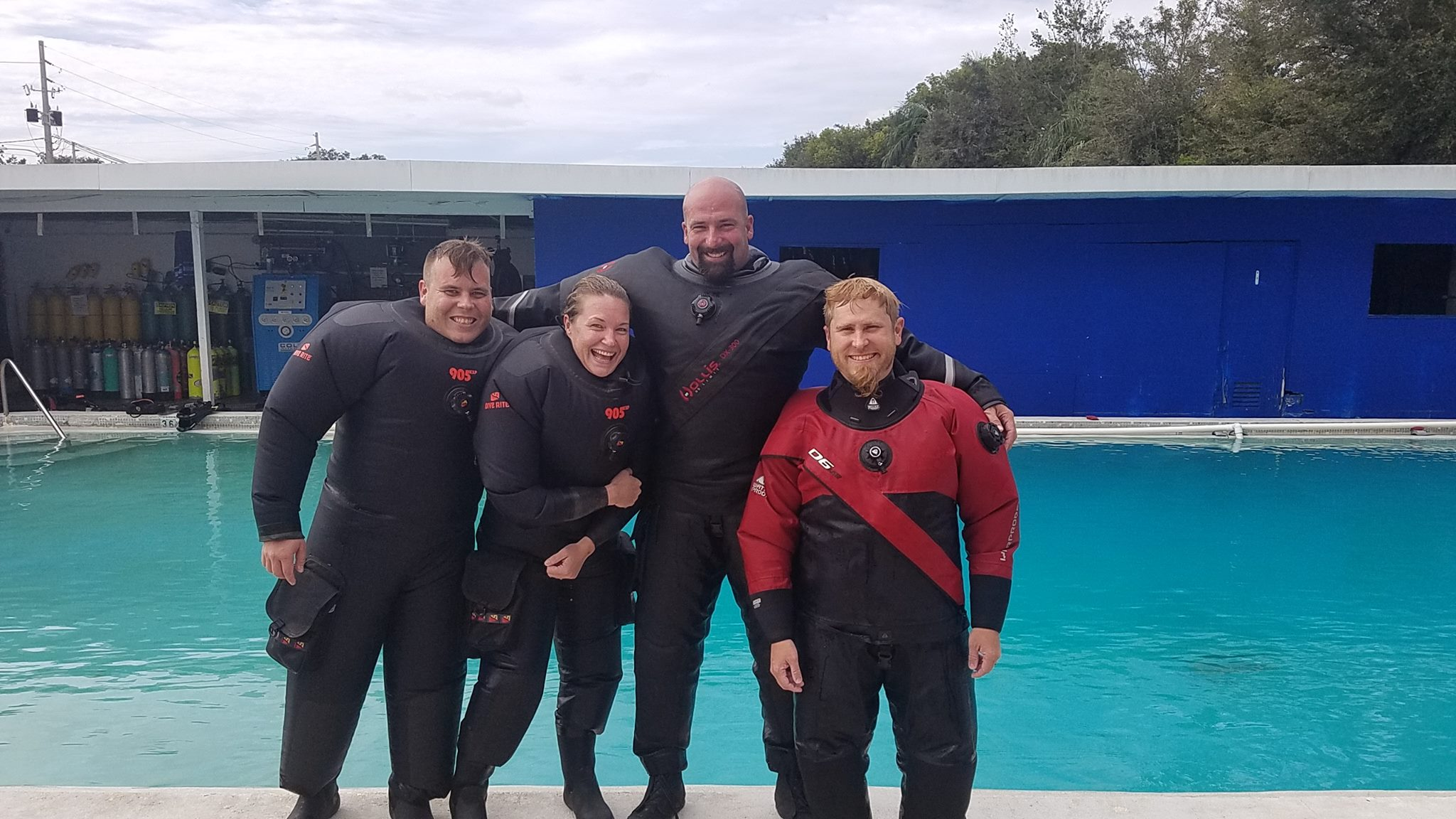 Dry Suit Diver - Learn how to control your bouyance and dive as a dry suit diver.