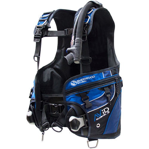 Sherwood Avid CQR3 - Backmount BCD