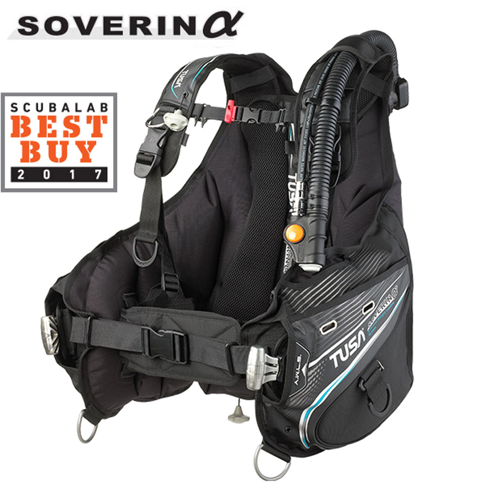Tusa Soverin Alpha - Backmount BCD