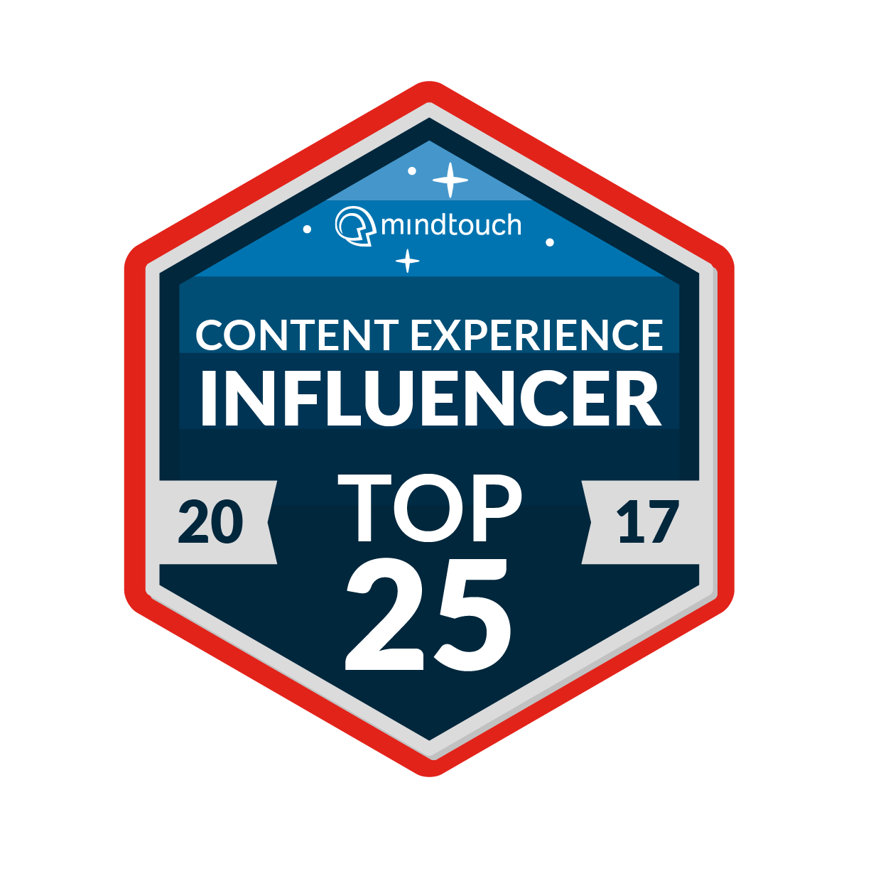 Content Experience Influencer Top 25 - I was very happy to be in this top 25 list, especially given that many of the others in the list are people I've followed and learned from since I started in structured content. The award is based on peer voting and judging. It's given to people who do innovative work in the field and who share their work with others in presentations,articles and so on.Get the whole list here.