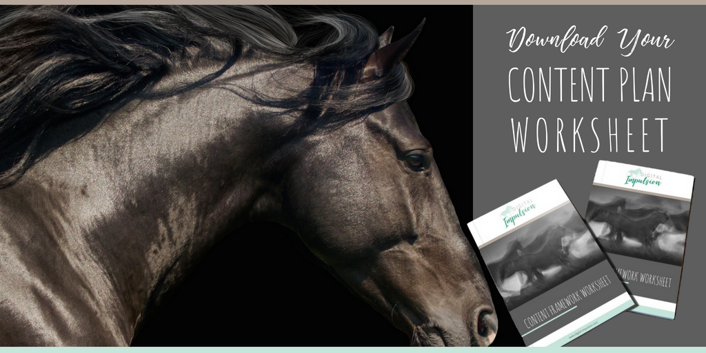 Equine Business Content Planning