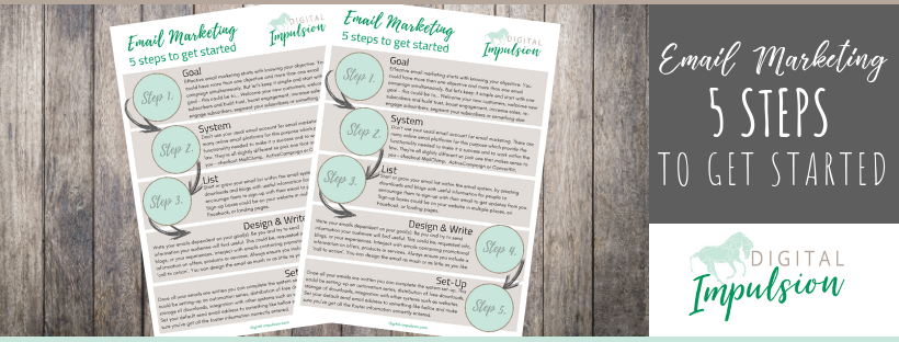 Get started with email marketing