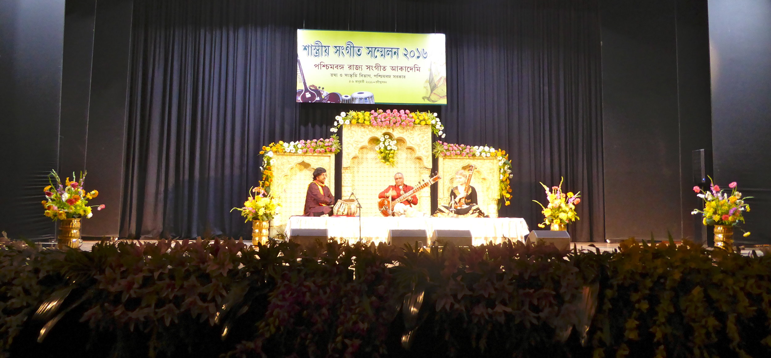 Rajeestan academy music festival. Amit Chatterjee on tablas