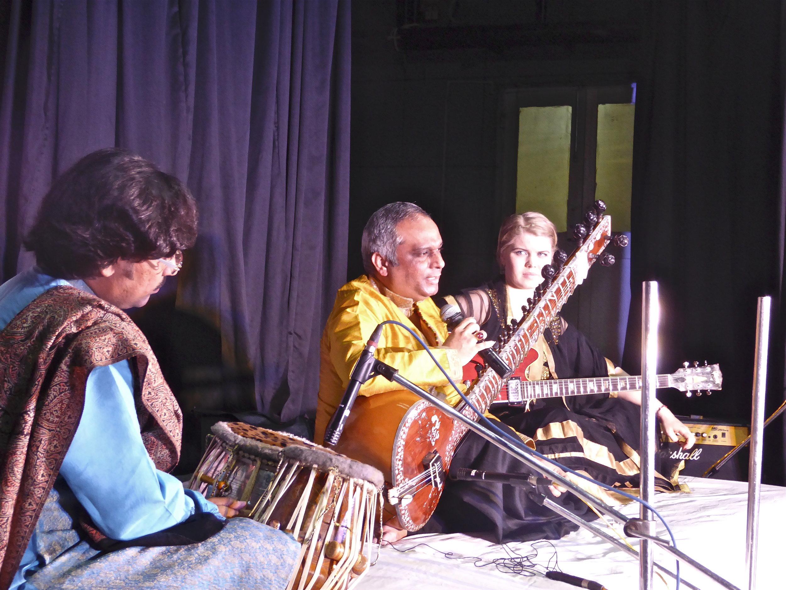 Haldia music Circle, 10.1.16. Amit Chatterjee onn tablas