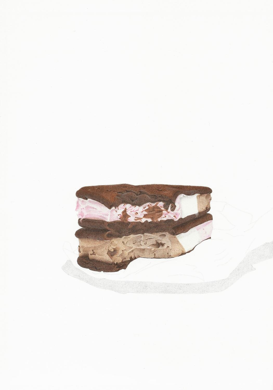 Double Decker Ice Cream Sandwiches