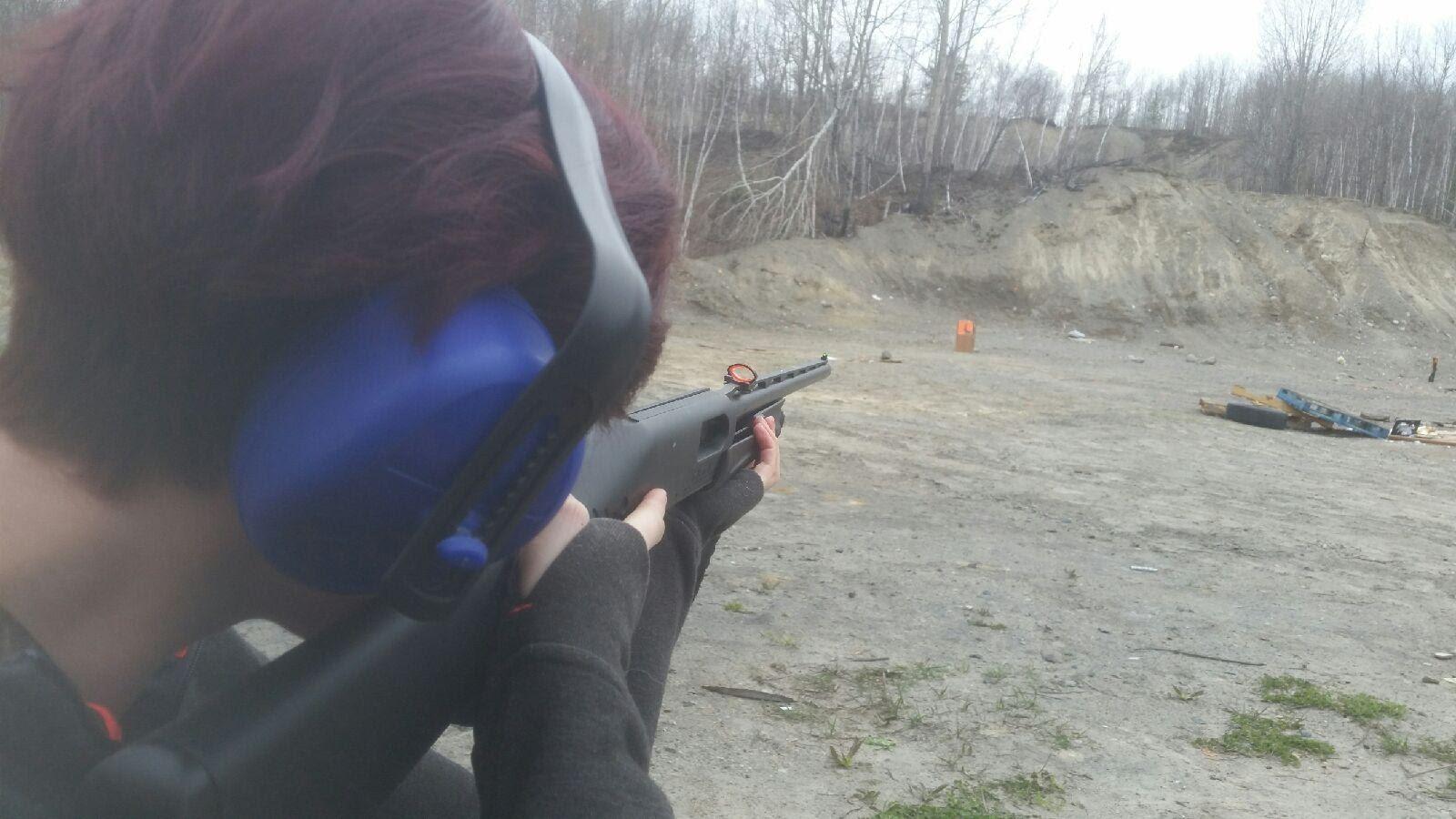 20 gauge target practice