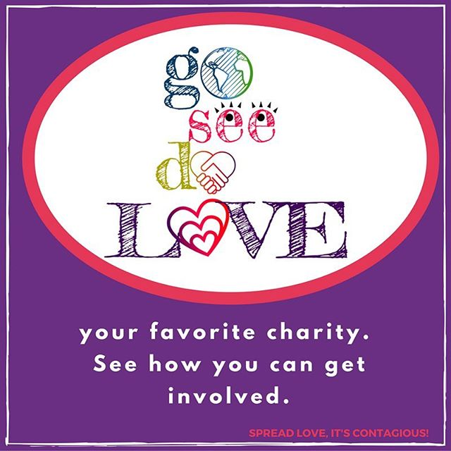 Daily #iSpreadlove Action: Show love to your favorite charity. See how you can get involved.