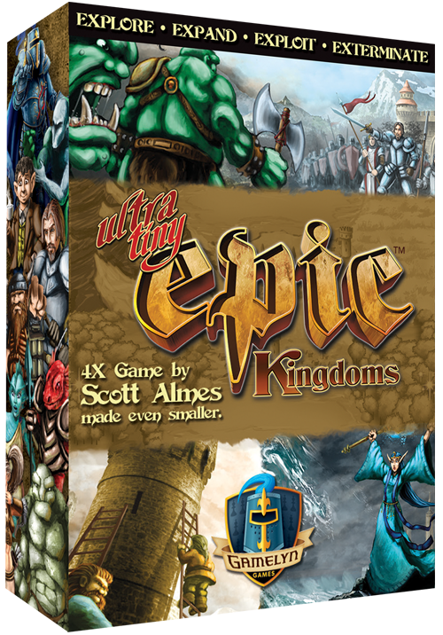 Ultra Tiny Epic Kingdoms -  Gamelyn Games