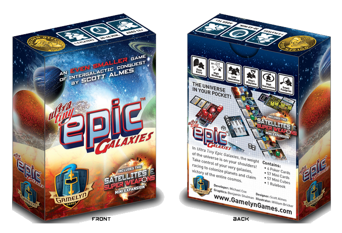 Ultra Tiny Epic Galaxies -  Gamelyn Games