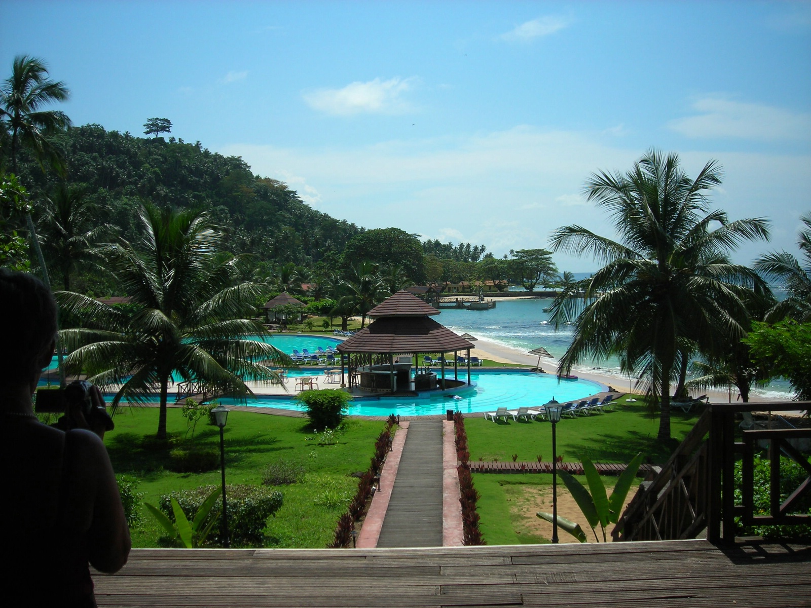 Pestana Equador er pr i dag eneste hotell på Rolas - Sao Tomé