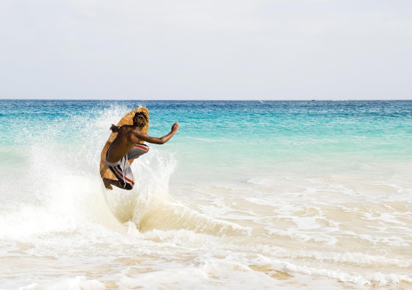 Vannsport og moro på Kapp Verde
