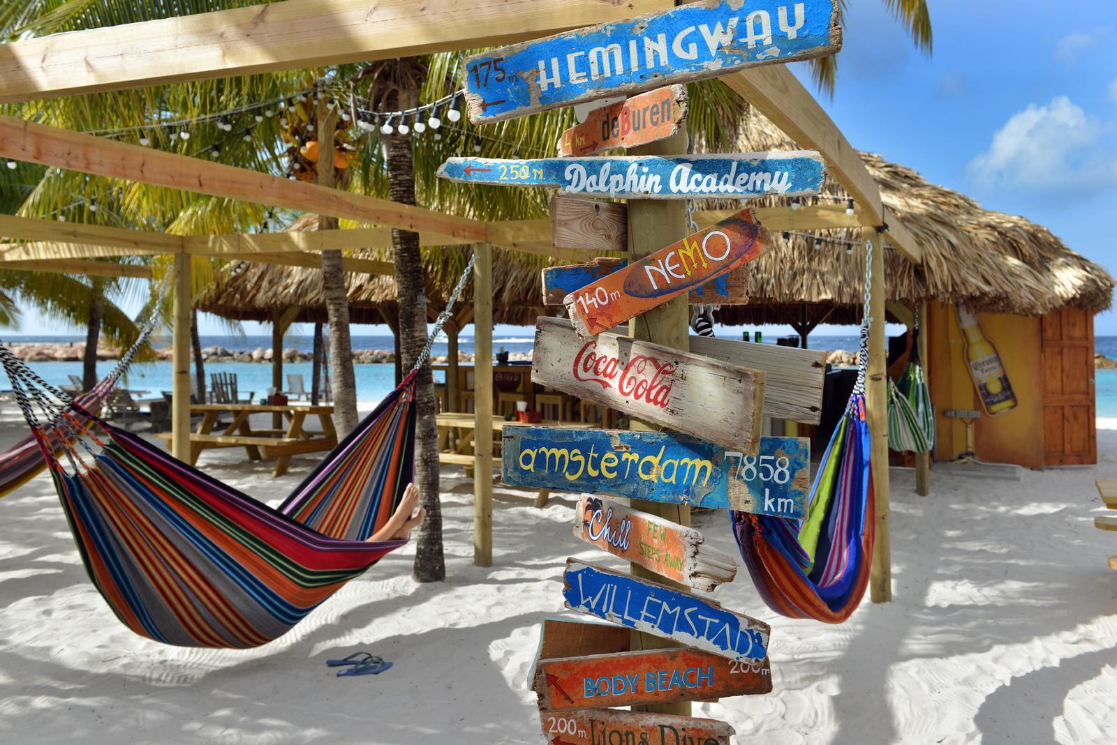 Lions Dive & Beach Resort på Curacao er et ypperlig bosted for både sol- og badeferie, dykking, svømming med delfiner - eller rett og slett nyte ferien på en karibisk øy.