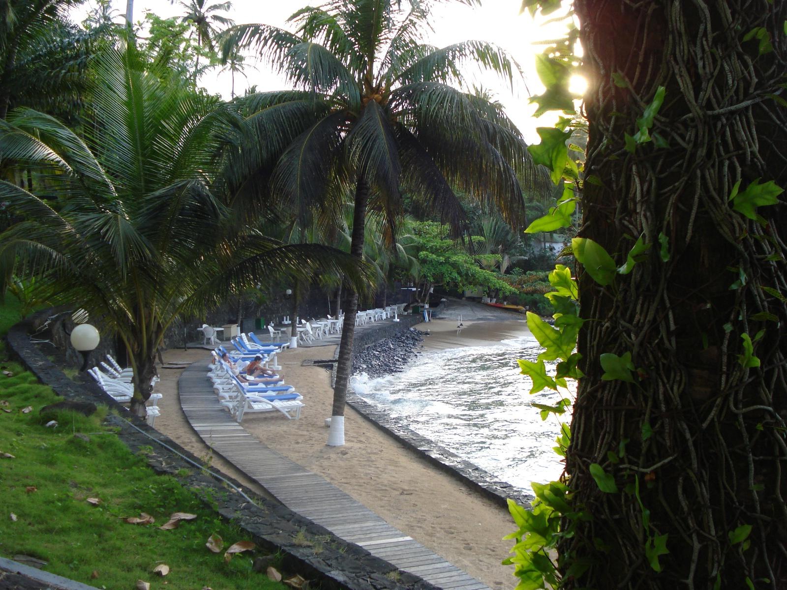 Dersom du ønsker fred og ro, da er Club Santana på Sao Tomé riktig valg