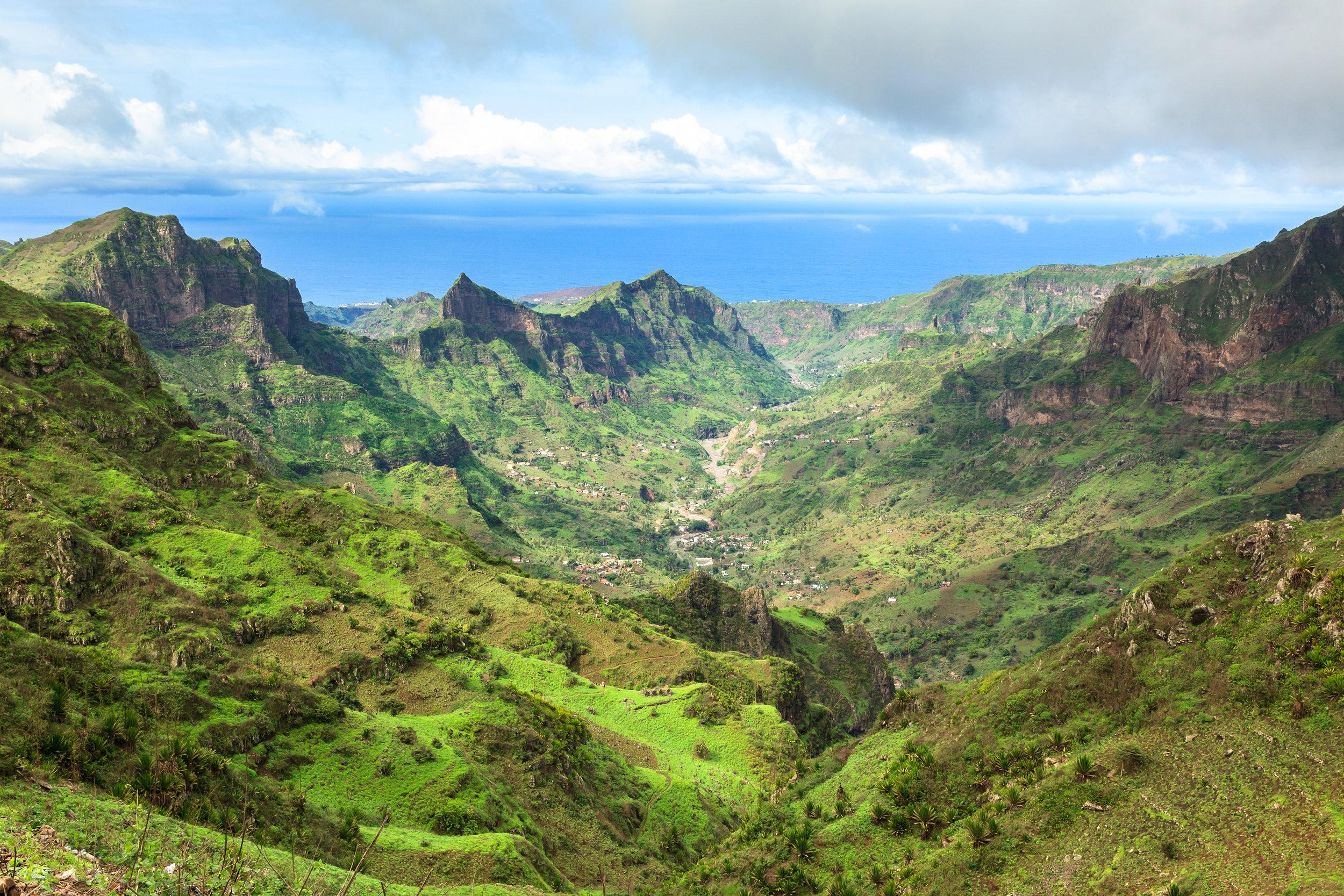 Kapp verde en blanding av eksotiske afrika og vårt kjente europa