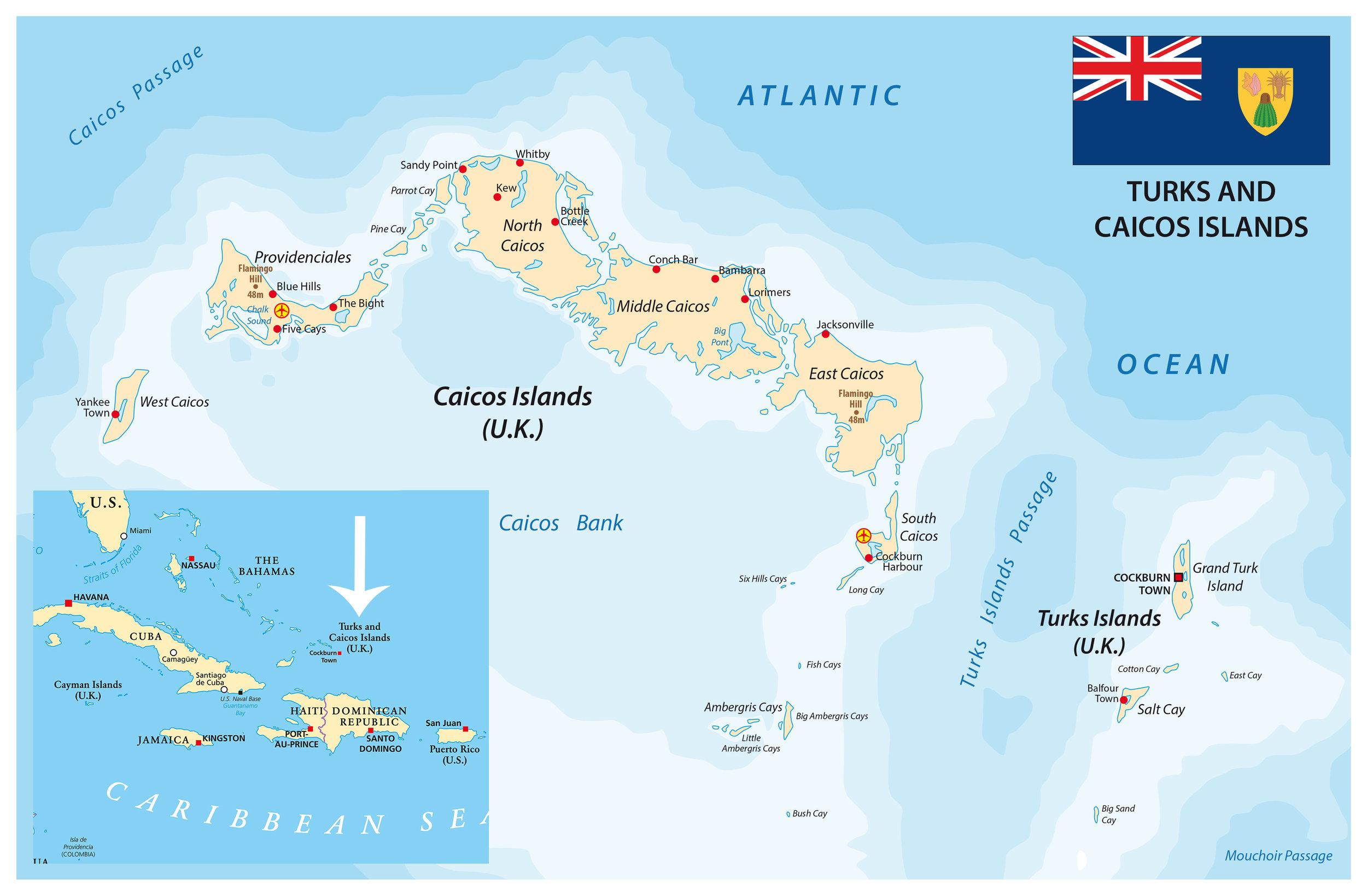 Ferie på Turks and Caicos er en drøm for livsnytere.