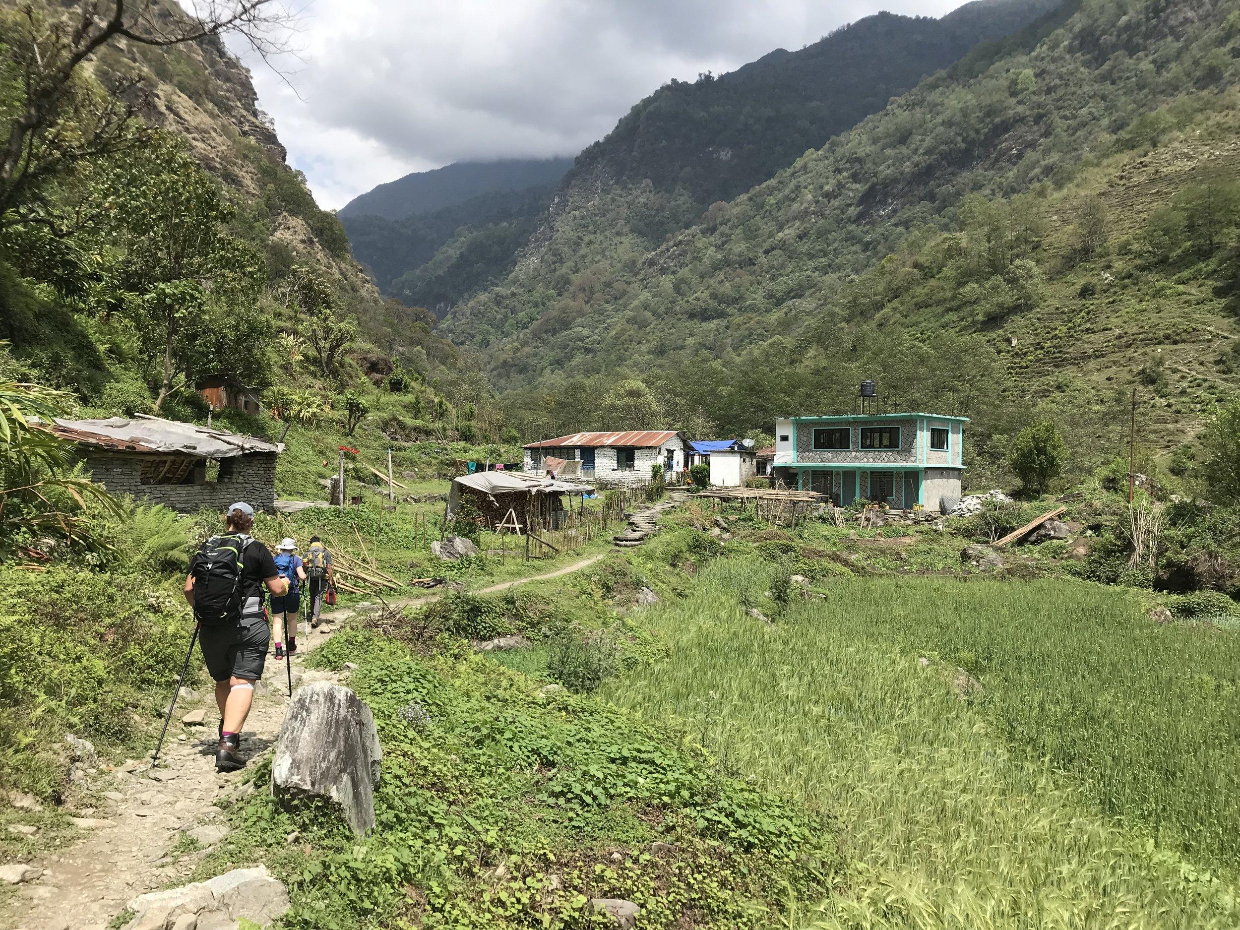 Vandring i Nepal