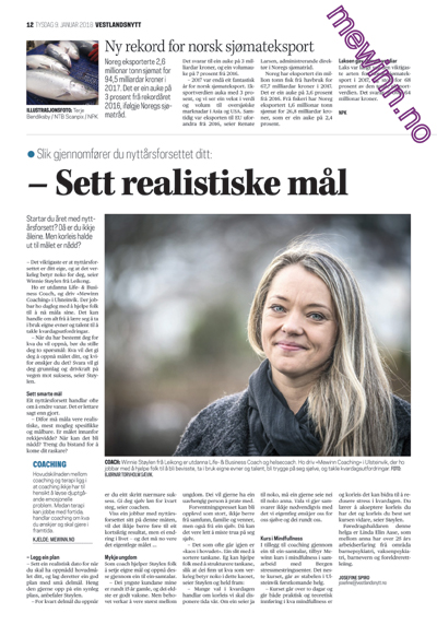 Vestlandsnytt - Tysdag 9. Januar 2018