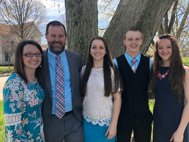 Pastor Randy Carlisle - Misty, Emily, Joshua and Abby
