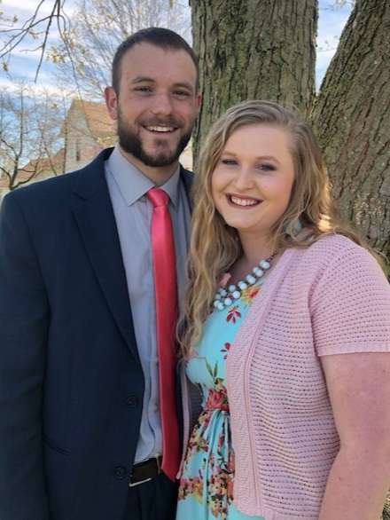 Youth Pastor Mason Higgins - Sarah