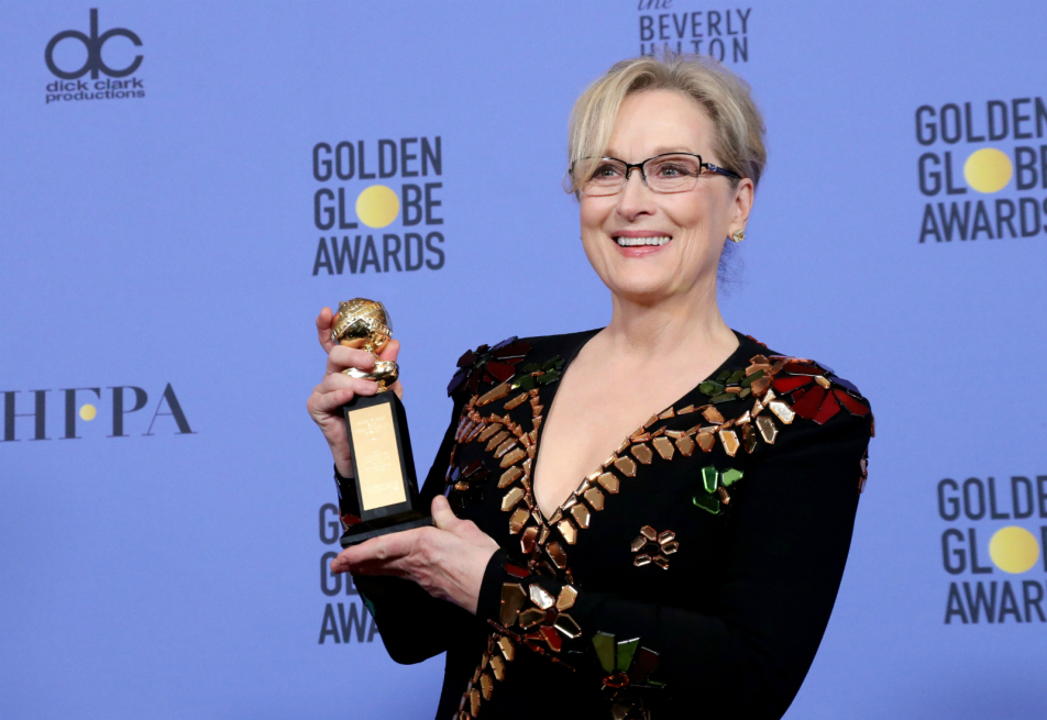 """14.1.17 """"It's amazing what you can get if you quietly, clearly and authoritatively demand it."""" -Meryl Streep #teammeryl #millionmerylmarch #queen"""