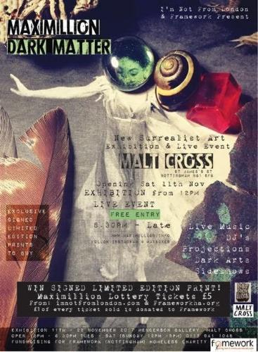 Poster Exhibition Malt Cross Nottingham 2017