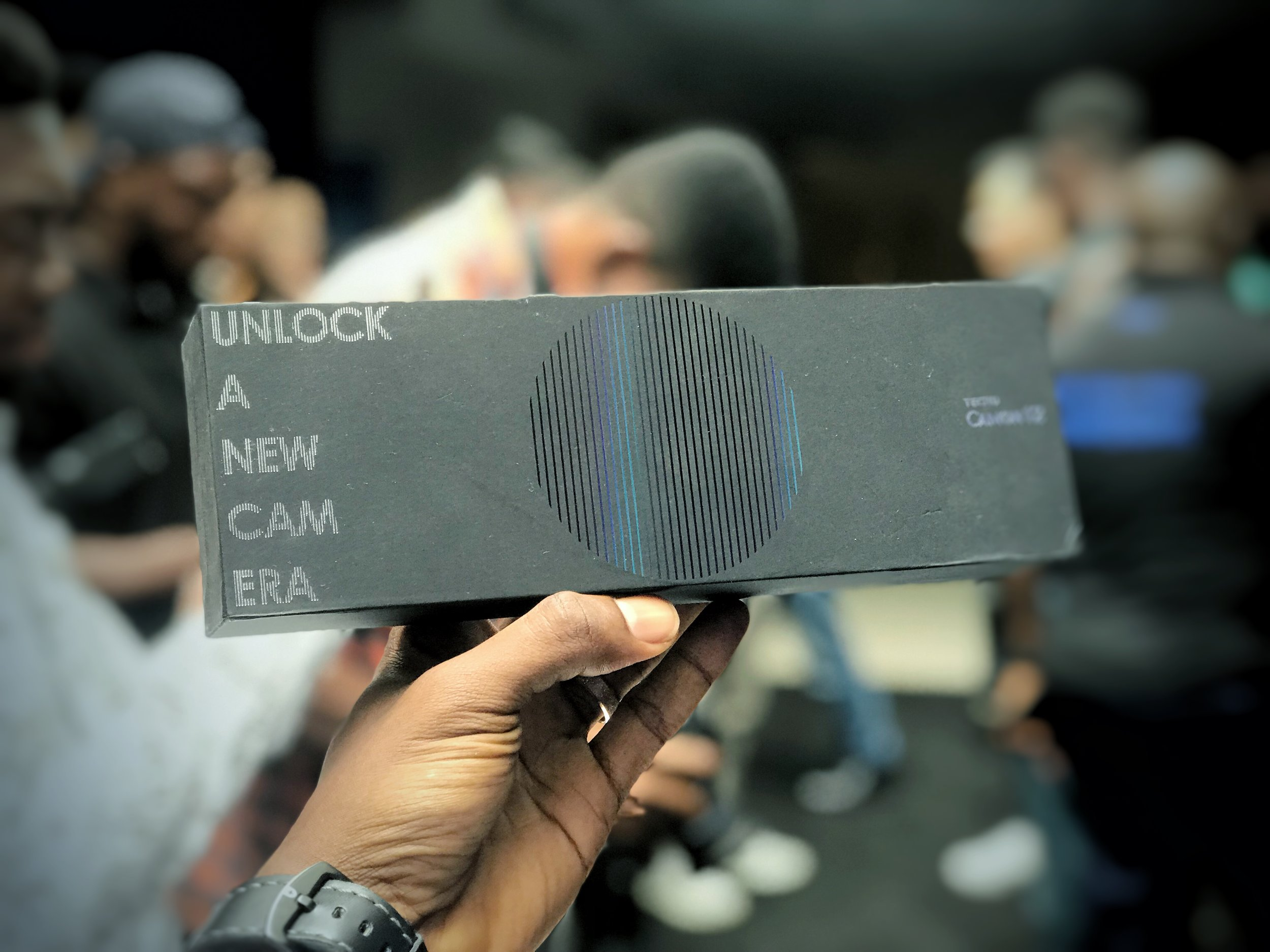 #UnlockCAMission - The camon family has a new member.