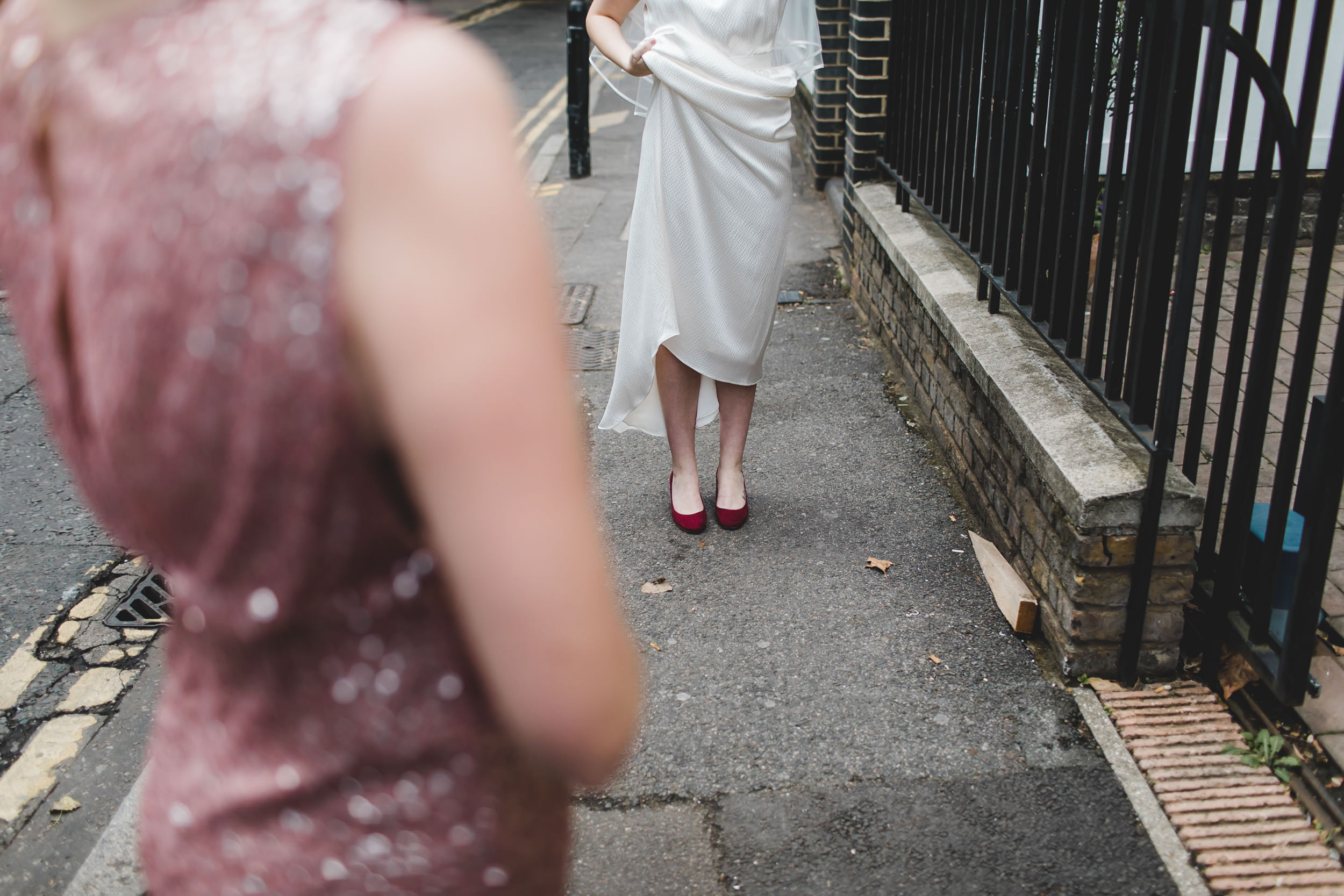 bridal shoes in hoxton square