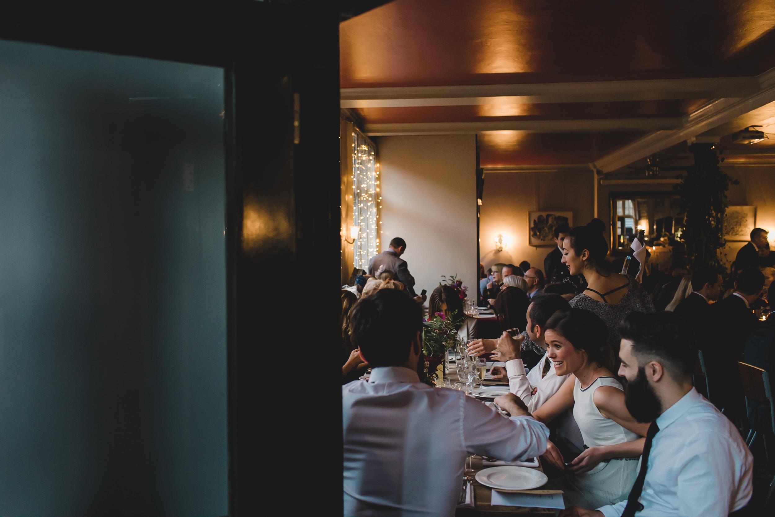 wedding party in easton pub london