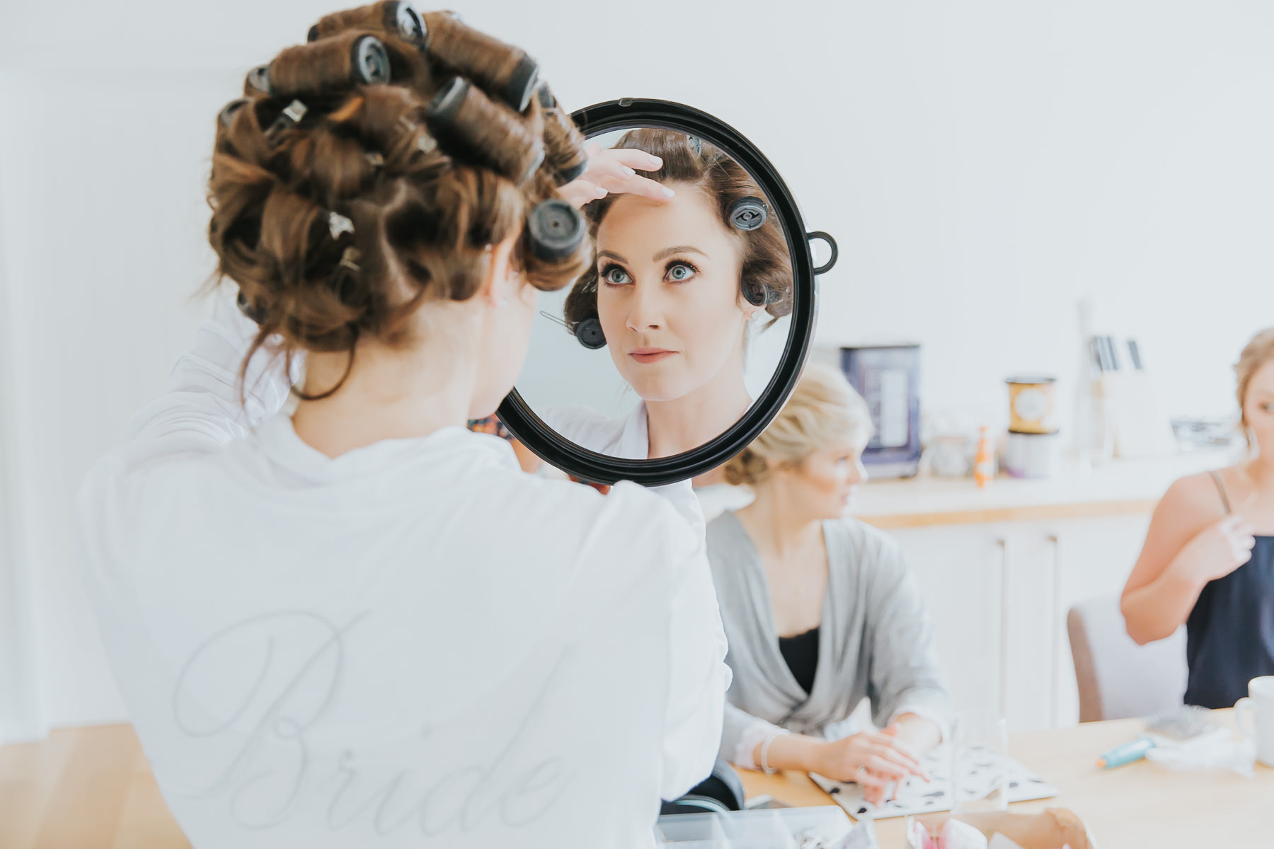 bridal prep at natural retreats