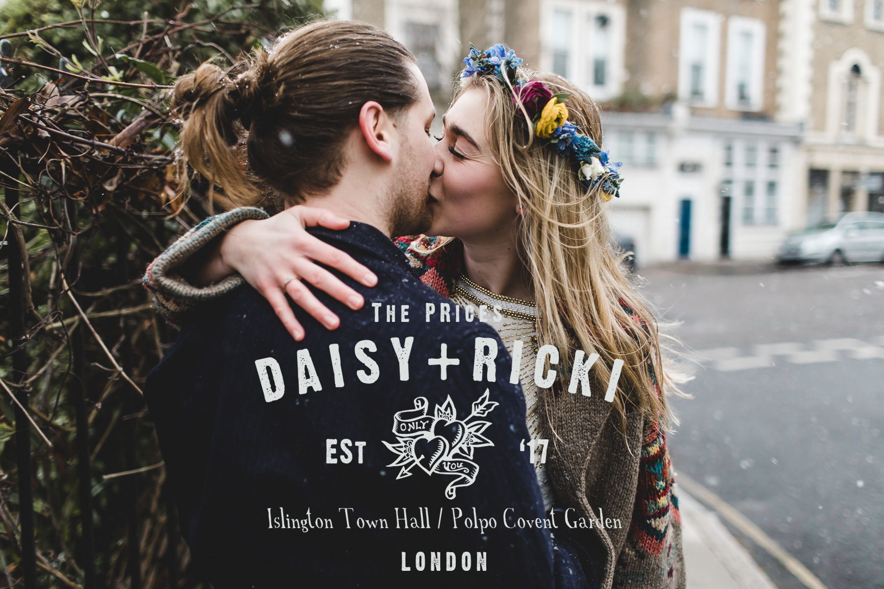 Winter elopement London