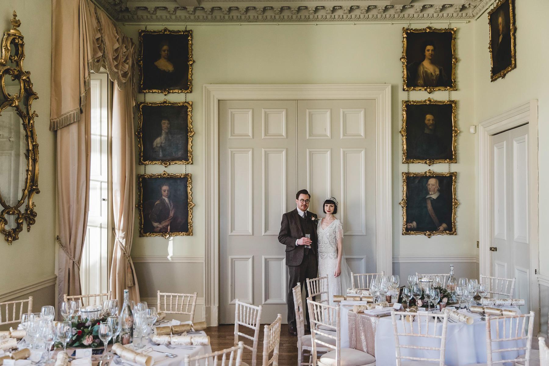 Wedding breakfast Prestwold Hall