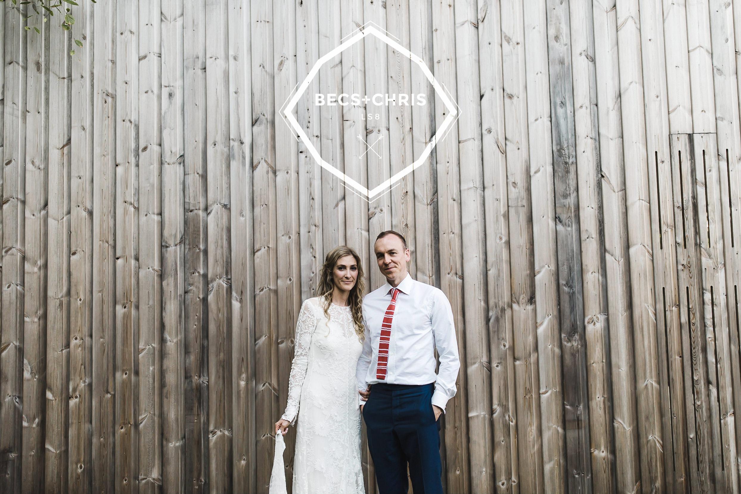 Roundhay Leeds Backyard wedding