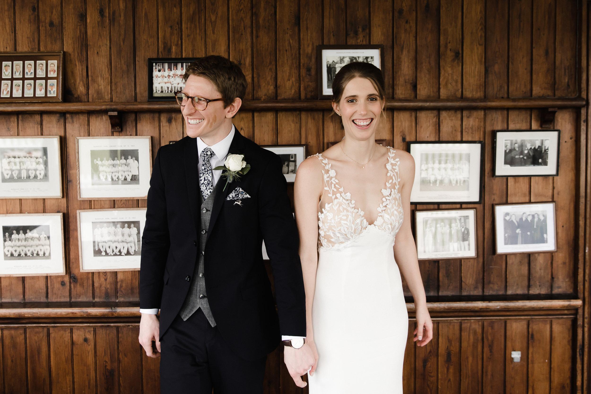 Burghley Park Cricket Club Wedding