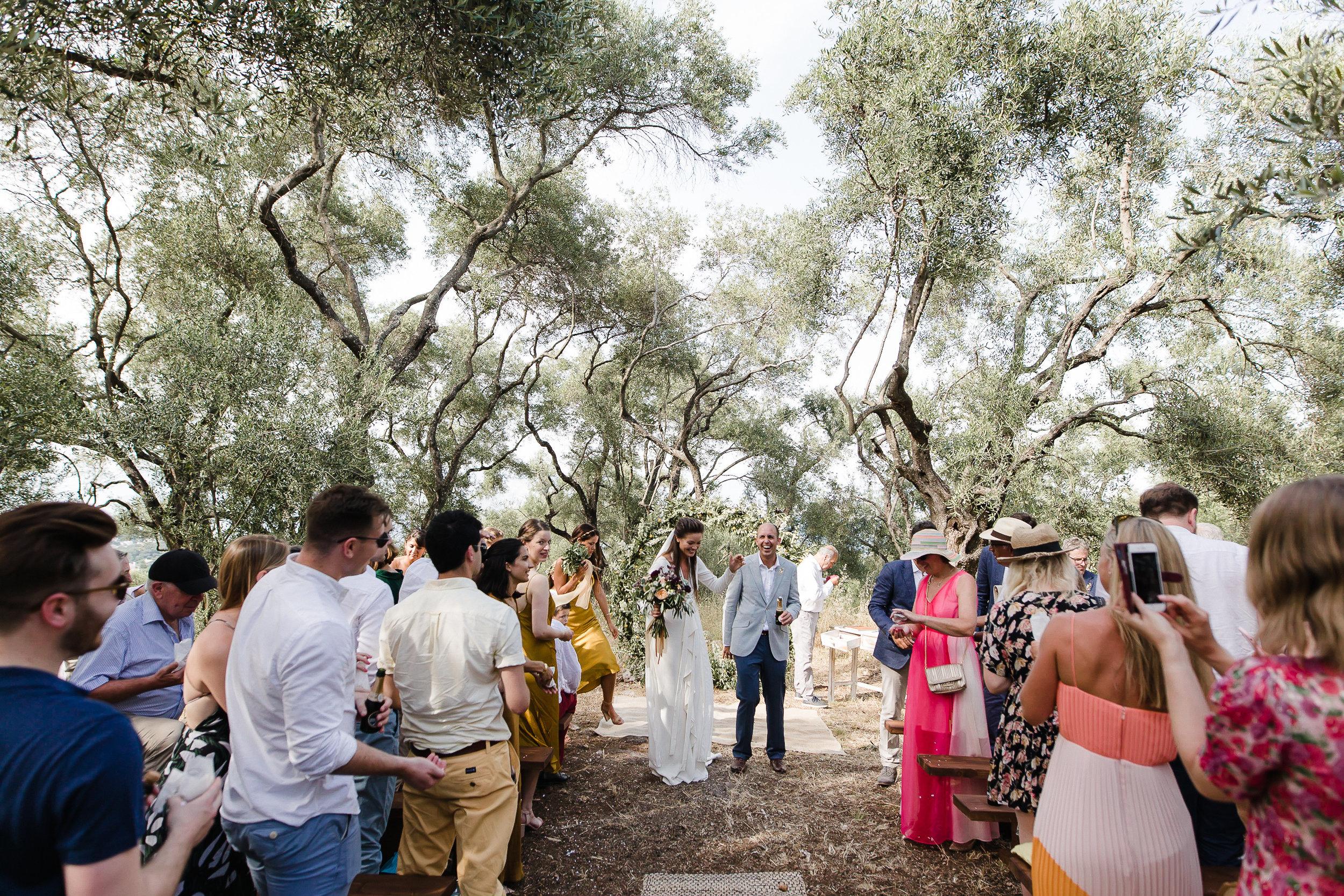 Lemon Tree House wedding Corfu Greece