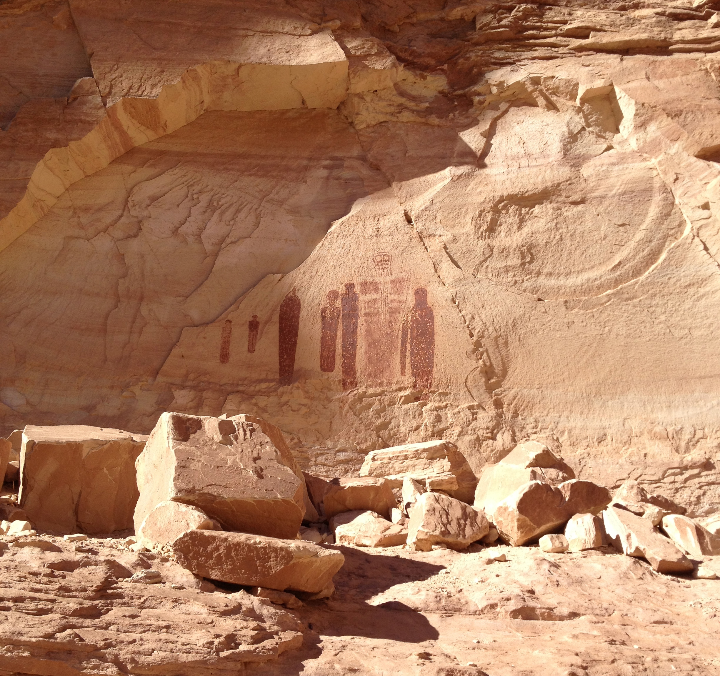 The Holy Ghost Panel, Horseshoe Canyon Unit, Canyonlands National Park. Photo: © Christina Speed